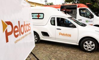 Samu Regional recebe três  veículos novos da Prefeitura