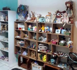 Objetos para decoração e criações artesanais na Páscoa e Dia das Mães