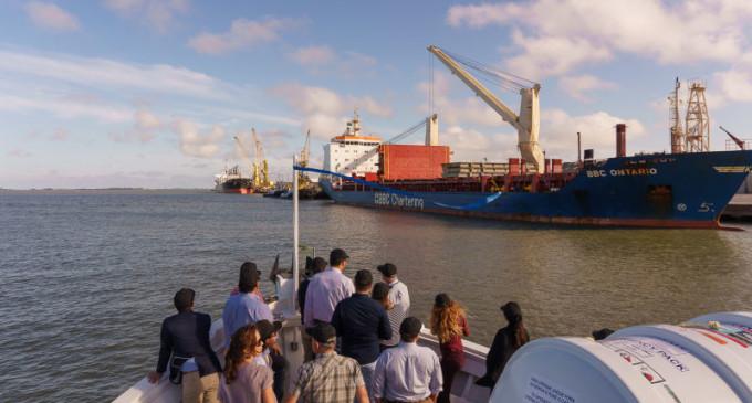 RIO GRANDE  : Adidos comerciais conhecem o Porto
