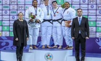 JUDÔ : Rochele é medalha na Georgia