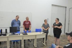 A chefe do NAI, Rita Cóssio, lembrou o aumento de  100% na inclusão de alunos com deficiências na Universidade, desde 2017, em função das cotas e das provas do Pave