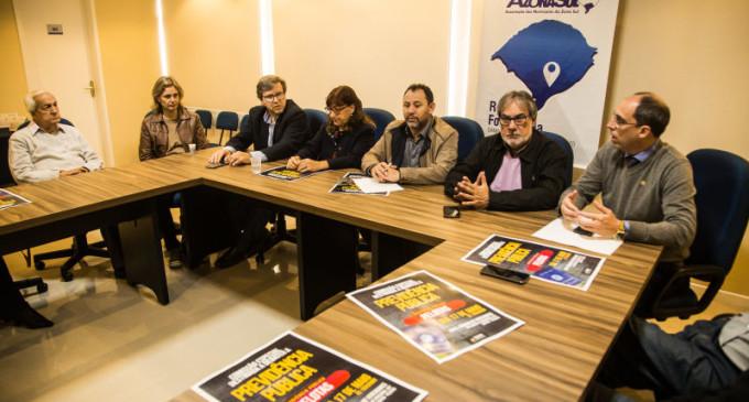 AZONASUL : Prefeitos são contra redução de recursos para a UFPel e IFSul
