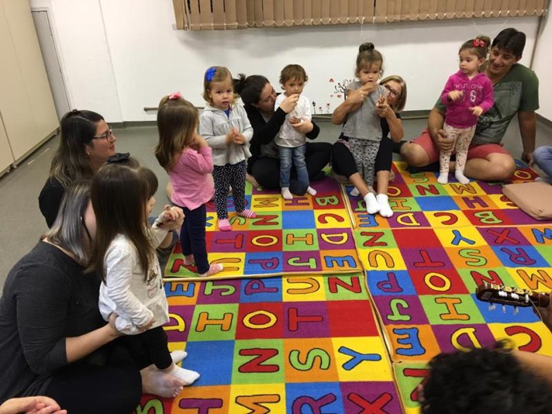 Projeto de Extensão Musicalização infantil