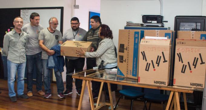 Prefeitura entrega computadores ao Conselho Tutelar