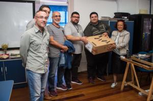 EQUIPAMENTOS foram comprados com recurso oriundo de emenda do deputado federal Paulo Pimenta