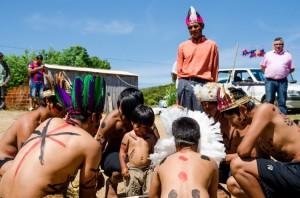 NA Aldeia Gyró, Cascata, público poderá conhecer gastronomia, danças típicas, ervas medicinais e hábitos indígenas