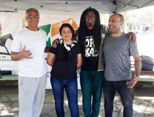 Dilermando Freitas, Maria de Fátima Duarte Santos, Daniel Amaro e Jonas Fernando Santos