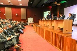 O lançamento do relatório ocorreu no auditório do Foro de Porto Alegre