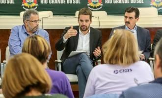 CPERS/SINDICATO  : Eduardo debate demandas da diretoria