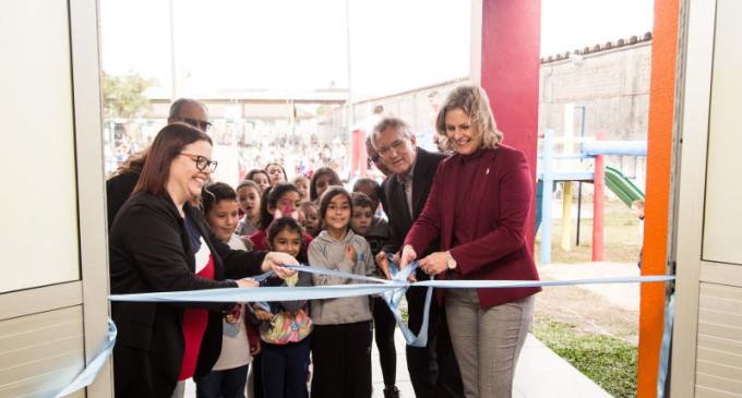 Escola Municipal Piratinino de Almeida é ampliada em 791 m²
