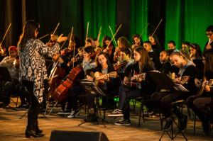 Orquestra Estudantil Municipal fez belíssima apresentação