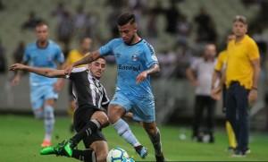 Grêmio tentou a reação no fim, mas não conseguiu empate fora de casa
