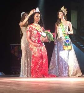 Miss Rio Grande do Sul gay oficial foi realizado na cidade de Jaguarão na noite do dia 4 de maio