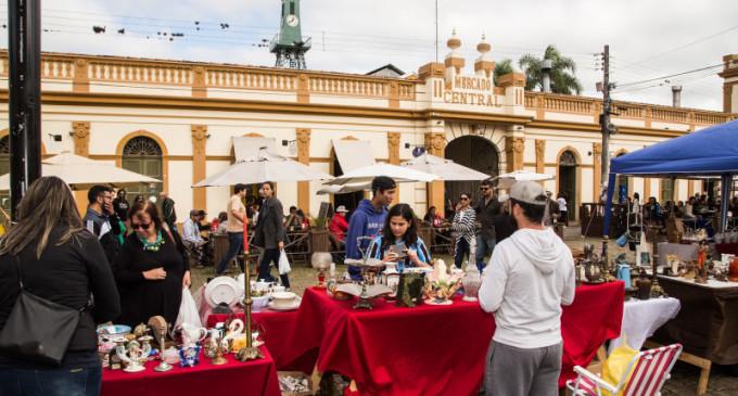Mercado das Pulgas comemora 5 anos de atividades