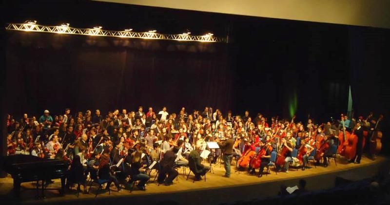 Apresentação da Orquestra da UFPel em Chapecó/SC