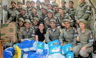 BRIGADA MILITAR : Alunos-soldados realizam ação social