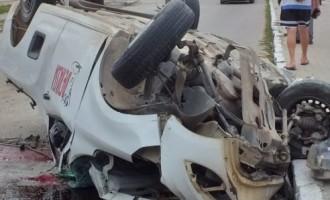 AV. FERNANDO OSÓRIO : Um morto em grave acidente de trânsito