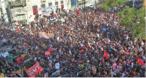 Juventude saiu às ruas para criticar o governo Bolsonaro