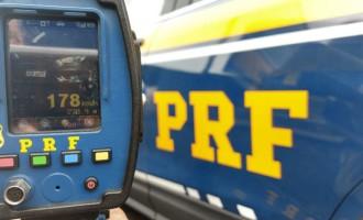 PRF intensifica fiscalização de velocidade na Zona Sul