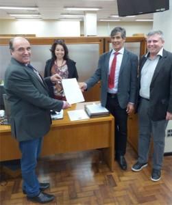 deputados estaduais Zé Nunes (PT) e Fernando Marroni (PT)