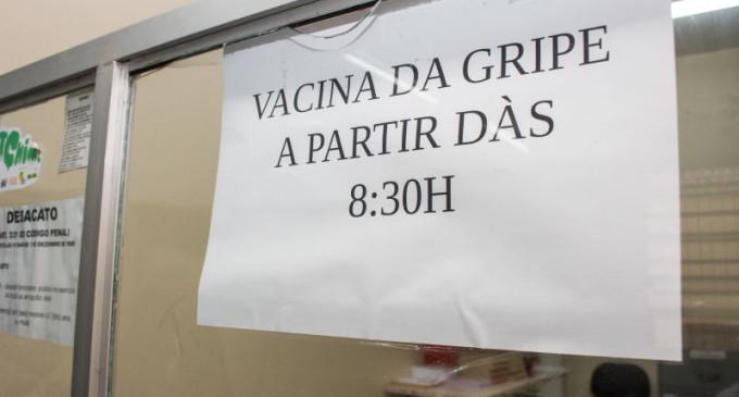 Números da vacinação contra a gripe estão abaixo do esperado em Pelotas
