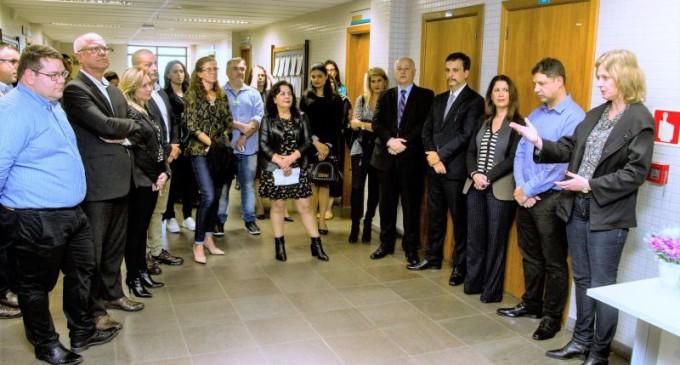 ANEXO FISCAL : Prefeitura e Judiciário oficializam a instalação