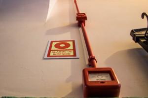 Sistema de alarme contra incêndios está sendo atualizado