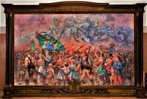 EQUIPE vai trabalhar no restauro de duas pinturas