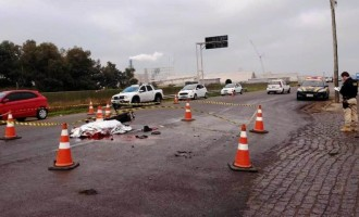 Motociclista morre em acidente na BR-392