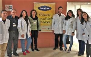 PROJETO tem  a participação de alunos de Química de Alimentos, Tecnologia em Alimentos e Nutrição