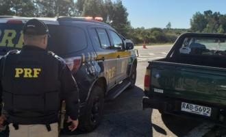 FLAGRANTE : Uruguaio é preso tentando subornar policiais rodoviários em Pelotas