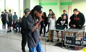 Hip Hop na temática de oficina