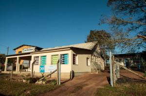 a Escola Municipal de Ensino Fundamental (Emef) Henrique Peter, na Colônia Santa Silvana, 6º distrito