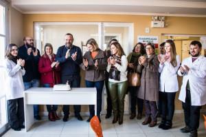 PREFEITA Paula Mascarenhas prestigia comemoração do 3º aniversário da Unidade, que caminha para a expansão