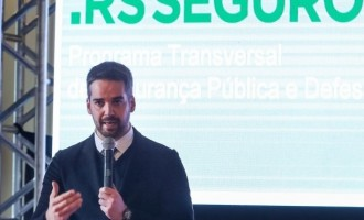 No Piratini, governador Eduardo Leite apresenta resultados do RS Seguro