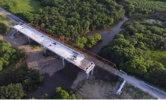 Ponte de acesso a Piratini está em fase final de construção