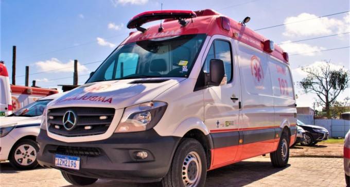 Nova ambulância do SAMU completa frota ao entrar em operação