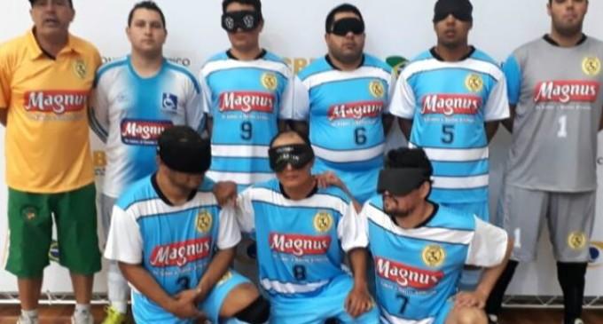 ASDEFIPEL EM SÃO PAULO  : Time pelotense ficou entre os 8 no Futebol de Cegos
