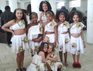 Grupo infantil conquistou a segunda colocação na categoria