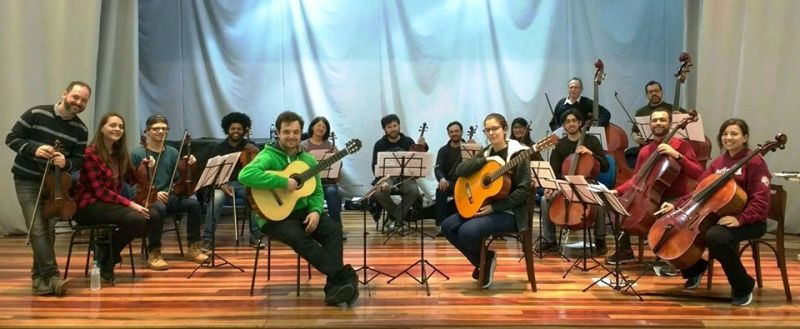 Professor Tiabo Ribas destaca que a Orquestra UFPel pode ser base para uma Sinfônica