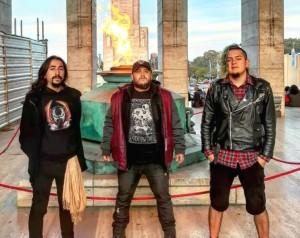 Chegando à cidade, trio do Equador que está em turnê pela América do Sul
