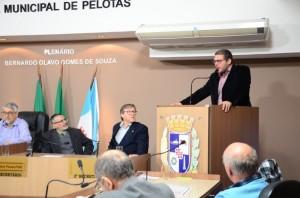 REITOR Pedro Curi Hallal participou da Sessão Solene