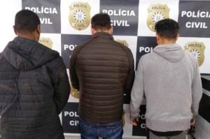 Trio integra grupo que causou prejuízo de R$2 milhões