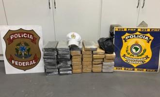 TRÁFICO : Operação apreende 45 quilos de cocaína
