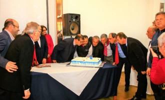 Prefeitos da região celebram 55 anos da Azonasul