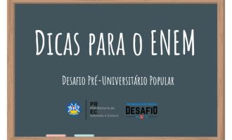 UFPEL : Desafio pré-vestibular cria canal com vídeos de dicas para o Enem