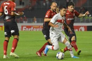 Ex-Brasil, Alisson Farias marcou golaço com a camisa do CRB