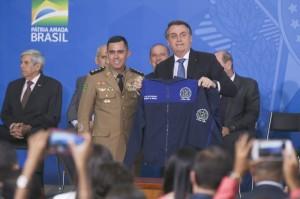 PRESIDENTE Jair Bolsonaro destacou a disciplina em escolas com tutela de militares Antônio Cruz/Agência Brasil