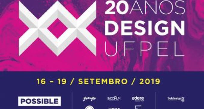 UFPEL : Design completa 20 anos com programação especial