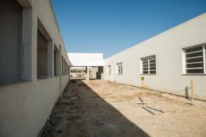 MAIS de 1,7 mil metros quadrados de área construída poderão receber até 250 alunos por turno